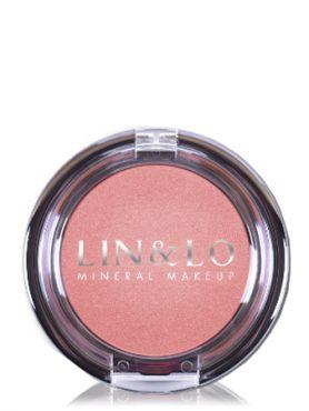 LIN&LO Румяна компактные минеральные LLBL10 дымчато - розовый