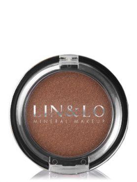 LIN&LO Румяна компактные минеральные LLBL07 коричнево - медный