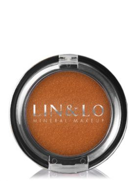 LIN&LO Румяна компактные минеральные LLBL06 мандарин