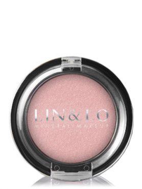 LIN&LO Румяна компактные минеральные LLBL14 пастельный розовый