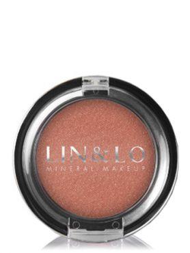 LIN&LO Румяна компактные минеральные LLBL11 розово - персиковый