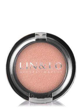 LIN&LO Румяна компактные минеральные LLBL09 розовый лепесток