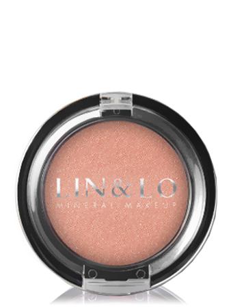 LIN&LO Румяна компактные минеральные LLBL02 светло - персиковый