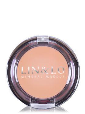 LIN&LO Румяна компактные минеральные LLBL20 сияющий розовый