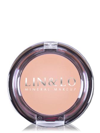 LIN&LO Румяна компактные минеральные LLBL08 фарфоровый ирис