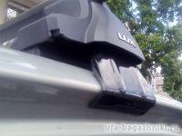 Универсальный багажник на крышу D-Lux 1, стальные прямоугольные дуги