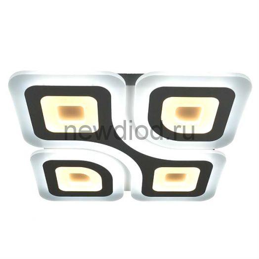 Управляемый светодиодный светильник Geometria Quadrate 85w q-500-white-220-ip44