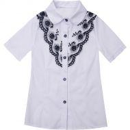 Блузка школьная белая №2420