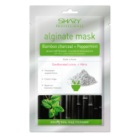 SHARY Альгинатная маска, бамбуковый уголь-мята