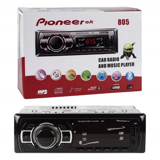 Автомагнитола  Pioneer-ok 805 (Bluetooth)