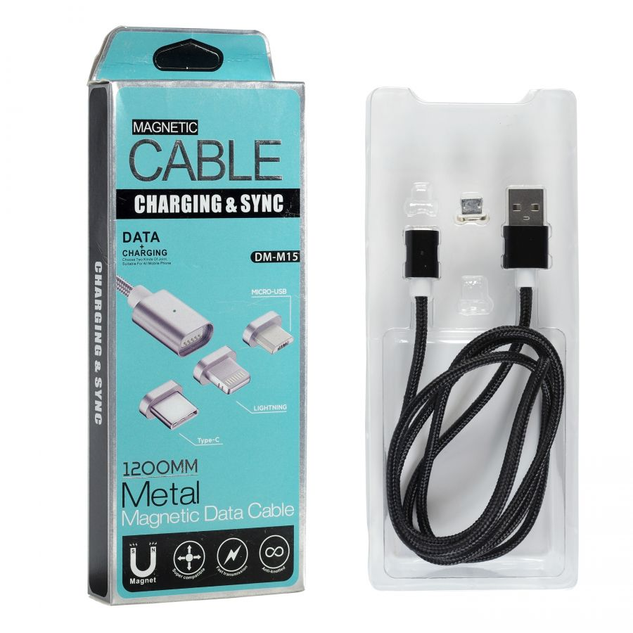 Шнур Type-C USB магнитный DM-M15