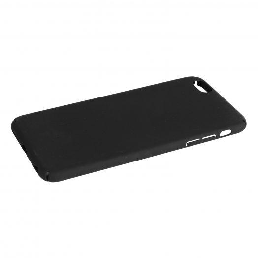 Чехол iPhone 6PLUS пластик soft (черный)
