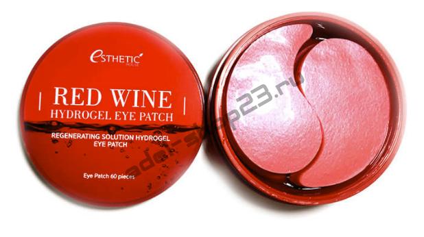 ESTHETIC HOUSE - Гидрогелевые патчи для кожи вокруг глаз с экстрактом красного вина