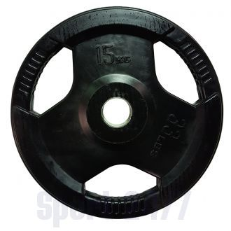 Диск олимпийский черный DY-H-2012C-15,0 кг
