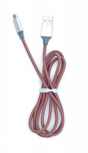 Кабель USB 2A Орбита KM-107 (microUSB) 1м