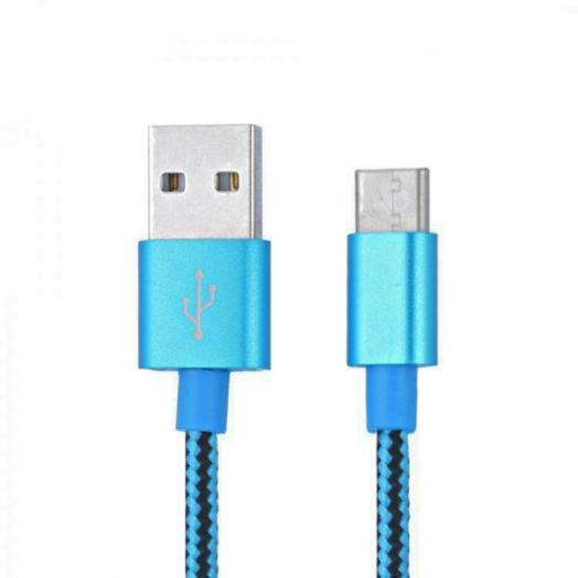 Кабель USB 2А MUJU MJ-20 (TYPE C) 1м