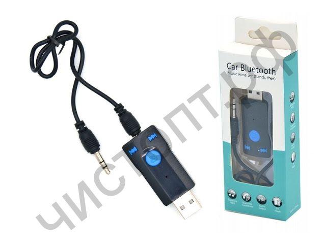 Адаптер Bluetooth receiver подключ. AUX ,micro SD, кнопки OT-PCB02