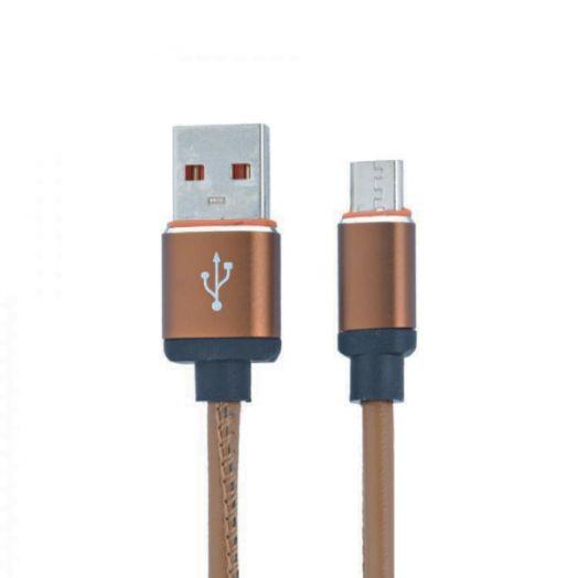Кабель USB 2А MUJU MJ-50 (microUSB) 1м