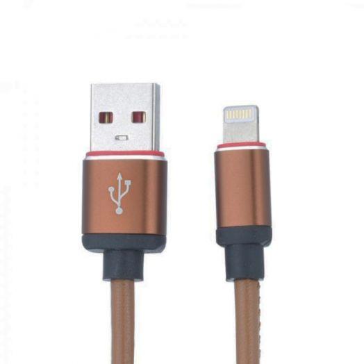 Кабель USB 2А MUJU MJ-51 (iPhone5/6/7) 1м