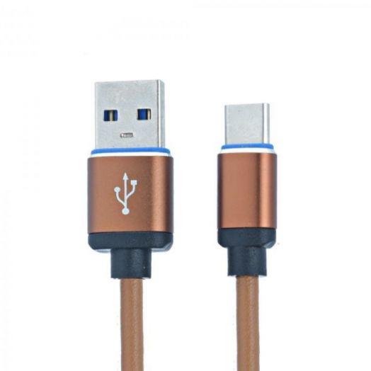Кабель USB 2А MUJU MJ-52 (TYPE C) 1м