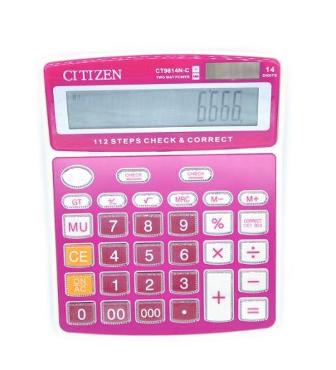 Калькулятор Crtrzen CT9814N-C (14 разр.) настольный
