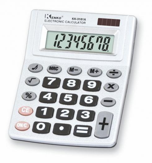 Калькулятор Kenko KK-3181A (8 разр.) настольный