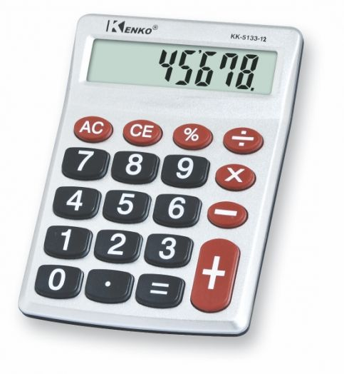 Калькулятор Kenko KK-5133-12 (12 разр.) настольный