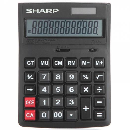Калькулятор SHARP CH-D12 (12 разр.) настольный