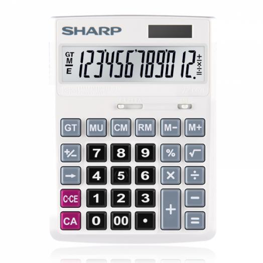 Калькулятор SHARP CH-G12 (12 разр.) настольный
