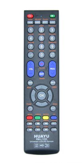 Пульт ТВ универсальный HUAYU RM-L1255 (LCD/LED)