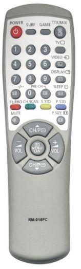 Пульт ТВ универсальный NVTC RM-016FC (LCD/LED Samsung)