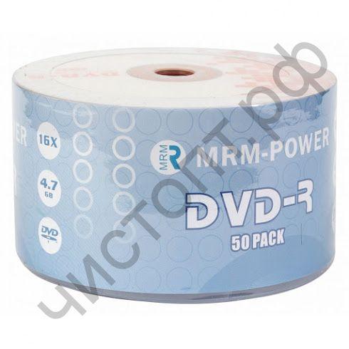MRM-POWER DVD-R 4.7Gb  Brand SP-50