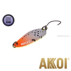 Колеблющаяся блесна Akkoi Reflex Hobo 2,9 см / 2,3гр / цвет:  R06 UV