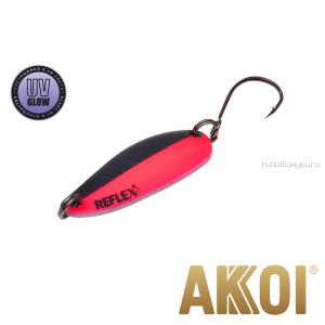Колеблющаяся блесна Akkoi Reflex Hobo 2,9 см / 2,3гр / цвет:  R08 UV