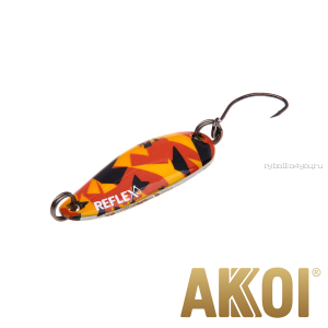 Колеблющаяся блесна Akkoi Reflex Hobo 2,9 см / 2,3гр / цвет:  R25