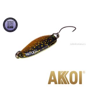 Колеблющаяся блесна Akkoi Reflex Hobo 2,9 см / 2,3гр / цвет:  R26 UV