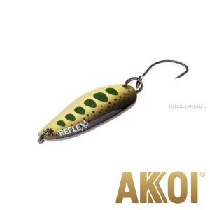 Колеблющаяся блесна Akkoi Reflex Hobo 2,9 см / 2,3гр / цвет:  R30
