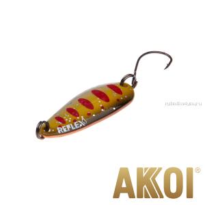 Колеблющаяся блесна Akkoi Reflex Hobo 2,9 см / 2,3гр / цвет:  R31