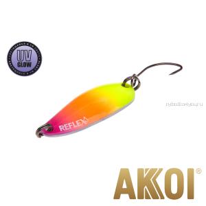Колеблющаяся блесна Akkoi Reflex Hobo 2,9 см / 2,3гр / цвет:  R36 UV