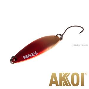 Колеблющаяся блесна Akkoi Reflex Legend 3,5 см / 3,1 гр / цвет: R01