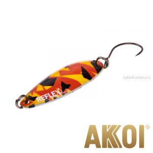 Колеблющаяся блесна Akkoi Reflex Legend 3,5 см / 3,1 гр / цвет: R25