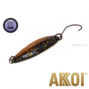 Колеблющаяся блесна Akkoi Reflex Legend 3,5 см / 3,1 гр / цвет: R26 UV