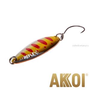 Колеблющаяся блесна Akkoi Reflex Legend 3,5 см / 3,1 гр / цвет: R31