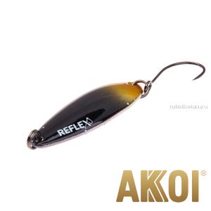 Колеблющаяся блесна Akkoi Reflex Legend 3,5 см / 3,1 гр / цвет: R39 UV