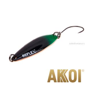 Колеблющаяся блесна Akkoi Reflex Legend 3,5 см / 3,1 гр / цвет: R40 UV