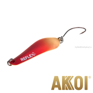 Колеблющаяся блесна Akkoi Reflex Crystal 4 см / 3,6 гр / цвет:  R01  UV