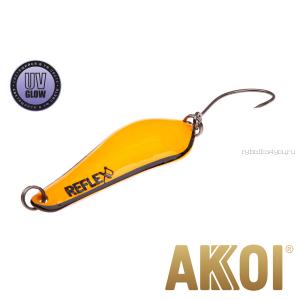 Колеблющаяся блесна Akkoi Reflex Crystal 4 см / 3,6 гр / цвет:  R17  UV