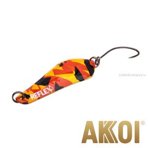 Колеблющаяся блесна Akkoi Reflex Crystal 4 см / 3,6 гр / цвет:  R25