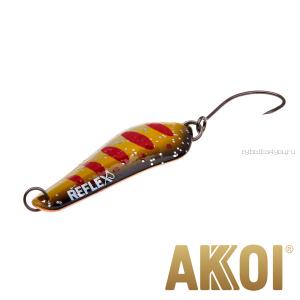 Колеблющаяся блесна Akkoi Reflex Crystal 4 см / 3,6 гр / цвет:  R31