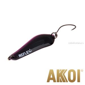 Колеблющаяся блесна Akkoi Reflex Crystal 4 см / 3,6 гр / цвет:  R37